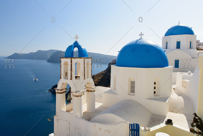Big church, Oia, Santorini, Greece
