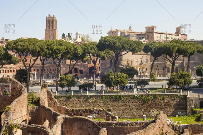 Forum Magnum in Rome, Italy