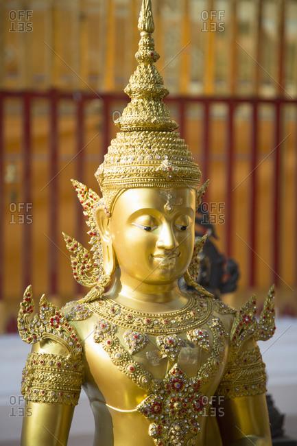 Buddha statue at Wat Phra That Doi Suthep, Chiang Mai, Thailand
