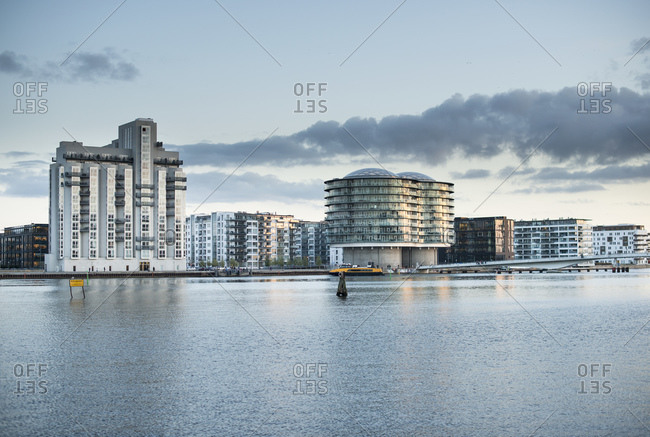 Modern architecture at Islandsbrygge, Copenhagen, Zealand, Denmark