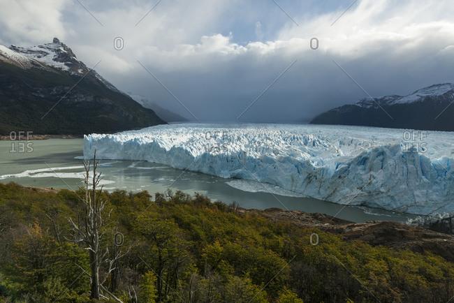 View of Perito Moreno Glacier, Los Glaciares National Park, Patagonia, Argentina