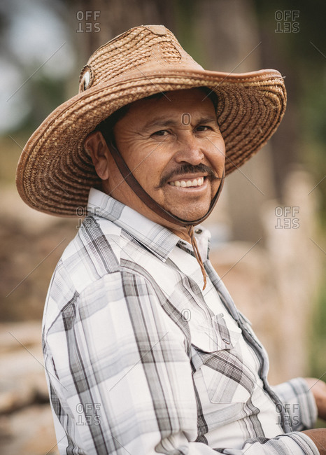 Portrait of a cowboy, San Miguel de Allende, Guanajuato, Mexico