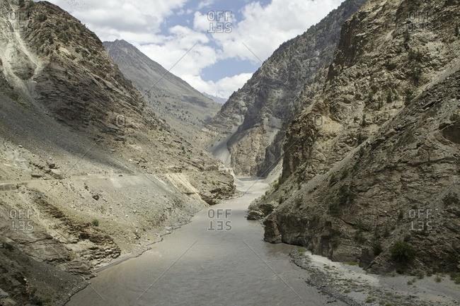 Spiti River Valley, Himalayas, Himachal Pradesh, India