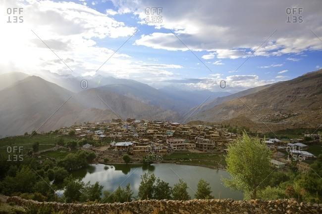 Nako village, Himalayas, Himachal Pradesh, India