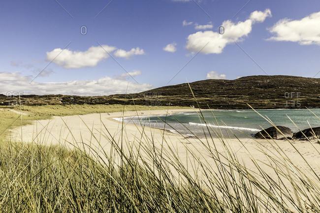 View of Derrynane beach, County Kerry, Ireland