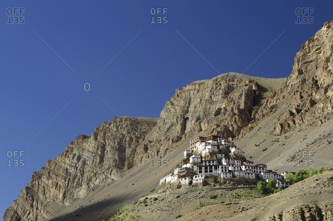 Ki Gompa Monastery, Himachal Pradesh, India, Asia