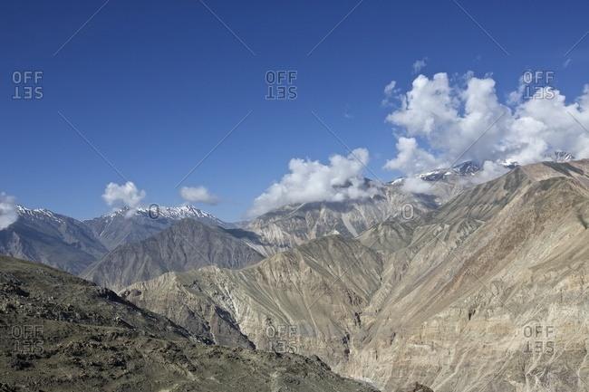 Spiti river valley, Kaza, Himachal Pradesh, India, Asia