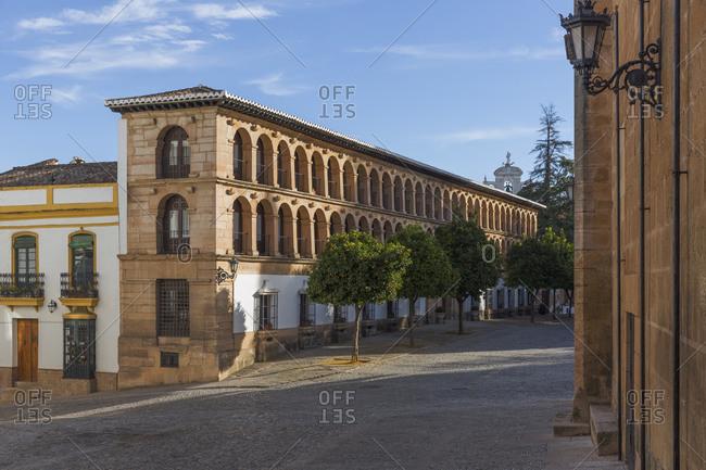Plaza Duquesa de Parcent, Ronda, Spain
