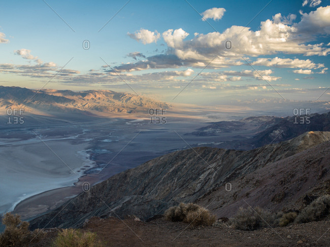Dantes View overlooking Badwater Basin, Death Valley, California, USA