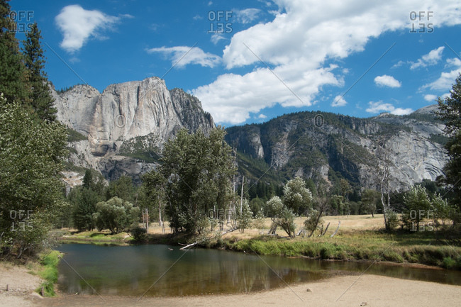 Sentinel Beach, Yosemite National Park, California, USA