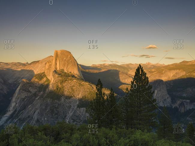 Glacier Point, Yosemite National Park, California, USA