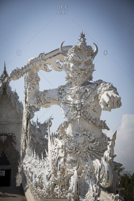 The white temple, Wat Rong Khun, Chiang Rai Province, Thailand