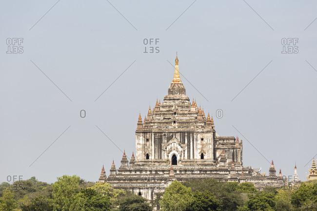 View of  Thatbyinnyu Temple,  Bagan, Mandalay Region, Myanmar