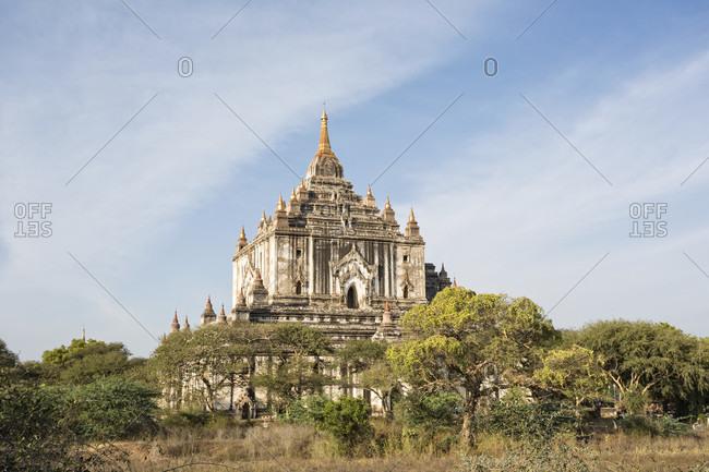 Thatbyinnyu Temple,  Bagan, Mandalay Region, Myanmar
