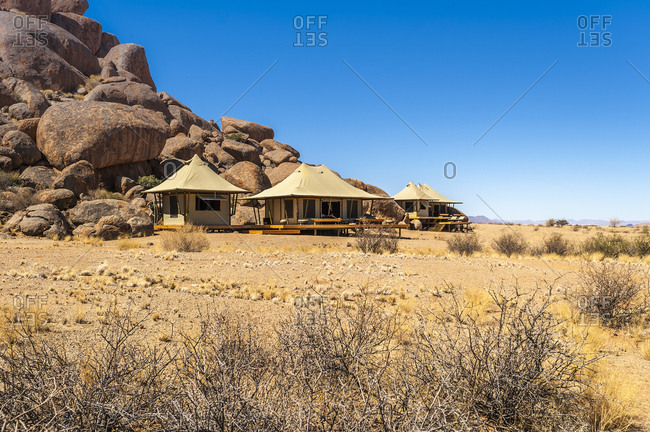 Tourist lodges in Namibrand Nature Reserve , Namibia