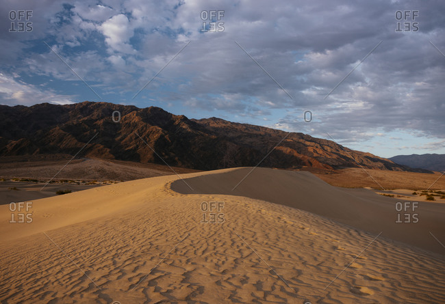 Dunes at dawn, Death Valley National Park, California, USA