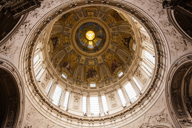 Interior of Berlin Cathedral, Berlin, Germany
