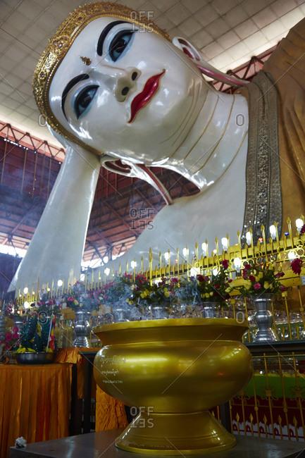 Chauk Htat Gyi Buddha, Yangon, Myanmar