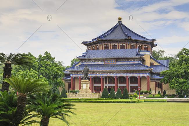 Sun Yat-sen memorial hall and gardens, Guangzhou, Guangdong, China