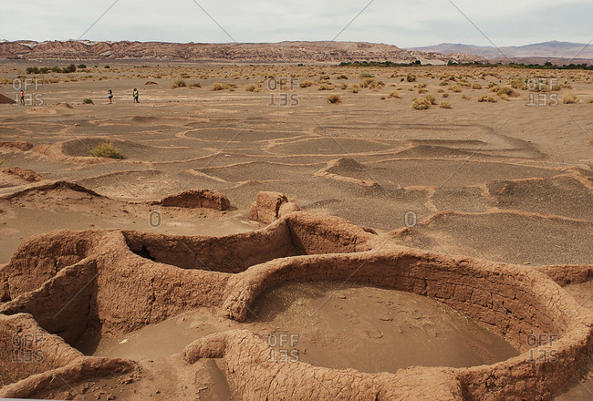 Ruins at Tulor, San Pedro de Atacama, Chile