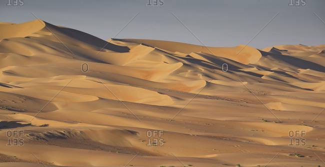 Sand dunes, Empty Quarter Desert, Abu Dhabi, United Arab Emirate