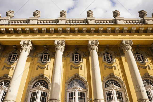 Exterior of Szechenyi Thermal Baths, Budapest, Hungary