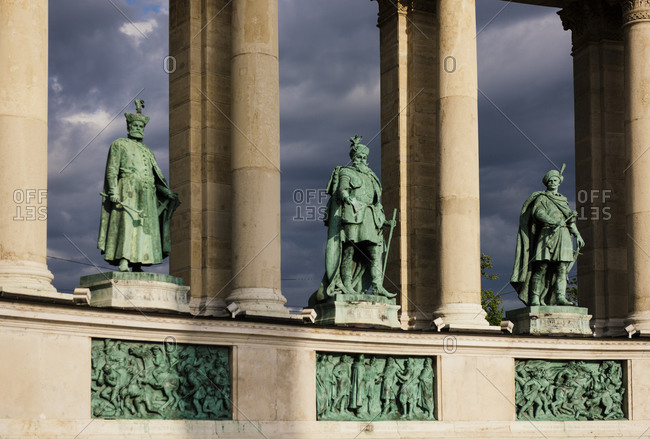 Heroes Square (Hosok tere), Budapest, Hungary