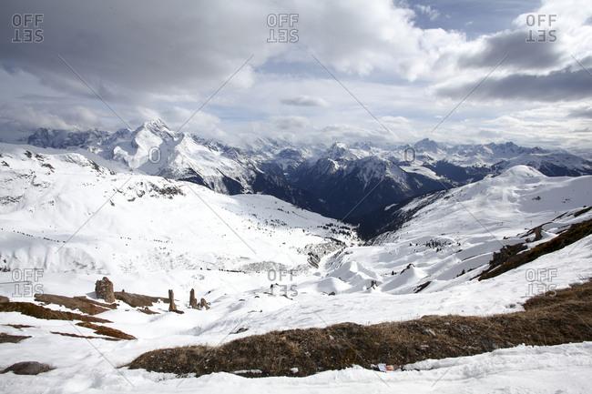 Les Arcs ski resort, Savoie, France