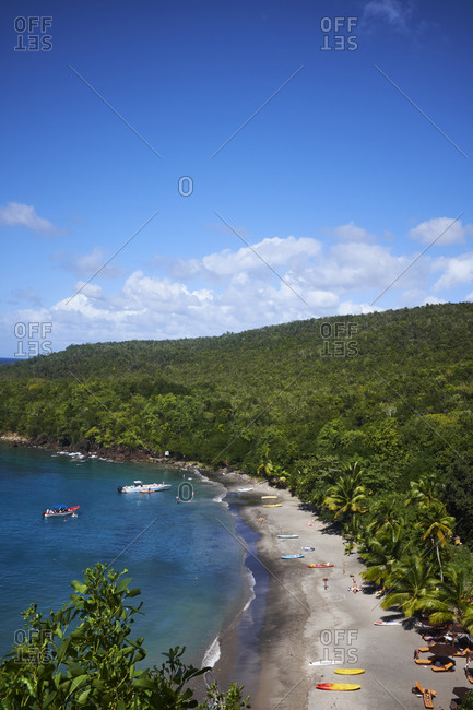 Scenic view, Saint Lucia, Caribbean