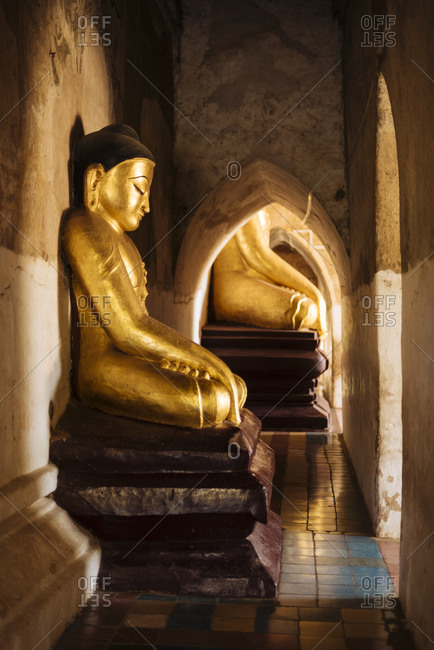 Buddhist statue, Bagan, Mandalay Region, Myanmar