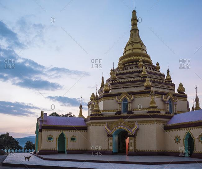 Pagoda, Hsipaw, Shan State, Myanmar