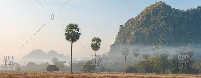 Scenic image of Hpa An, Kayin State, Myanmar