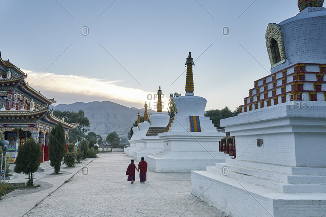 Wu Tun Temple, Tongren, Qinghai Province, China