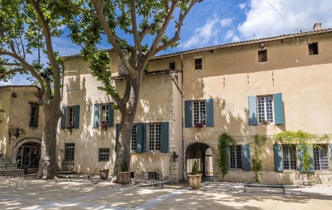 France, Provence-Alpes-Cote d'Azur, Vaucluse, city hall of Pernes-les-Fontaines