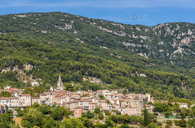 France, Provence-Alpes-Cote-d'Azur, Var, Bargemon  (Plus Beau Village de France - Most Beautiful Village in France)