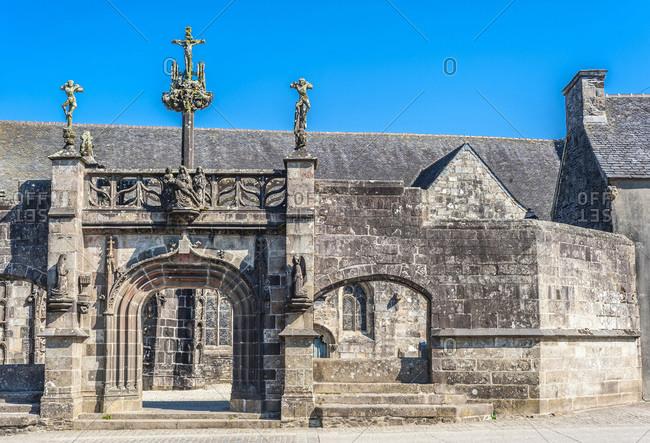 France, Bretagne, La Martyre fortified churchyard (15th-16th century)