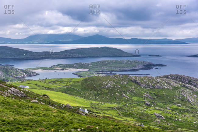 Republic of Ireland, County Kerry, Iveragh Paninsula, Ring of Kerry, landscape