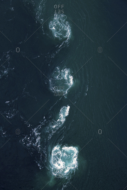 Europe, Norway, Nordland, BodoSaltstraumen - Offset