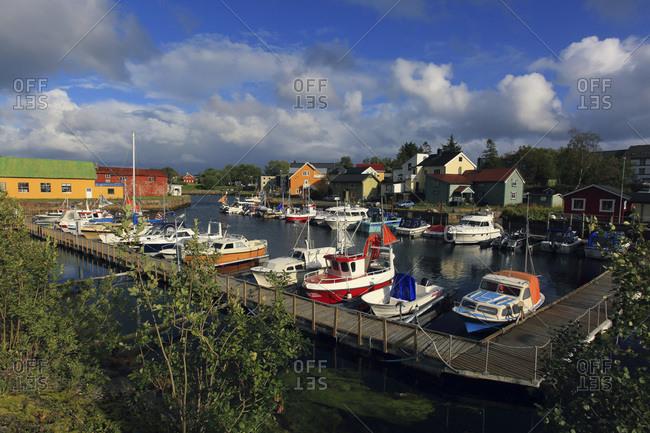 Norway - August 26, 2018: Norway, Lofoten Islands, Kabala