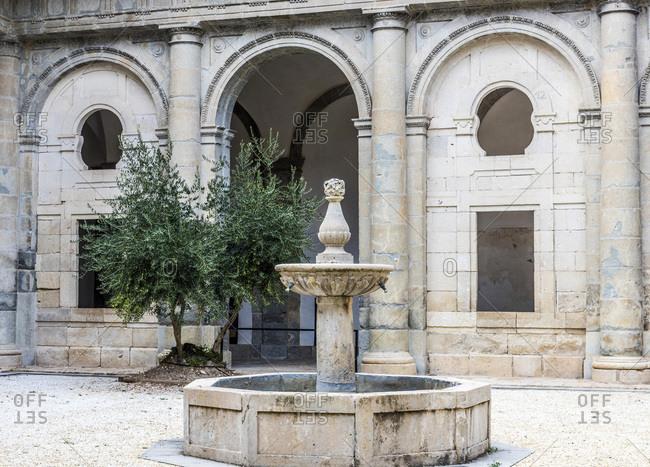 Spain, autonomous community of Castile - La Mancha, Cuenca, cathedral Saint Mary and Saint Julian (12th - 18th century) (UNESCO World Heritage) (Most Beautiful Village in Spain)