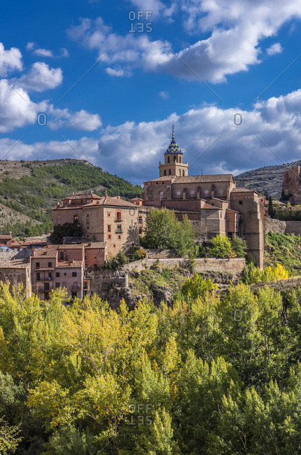 Spain, autonomous community of Aragon, Province of Teruel, Albarracin village, (Most Beautiful Village in Spain)