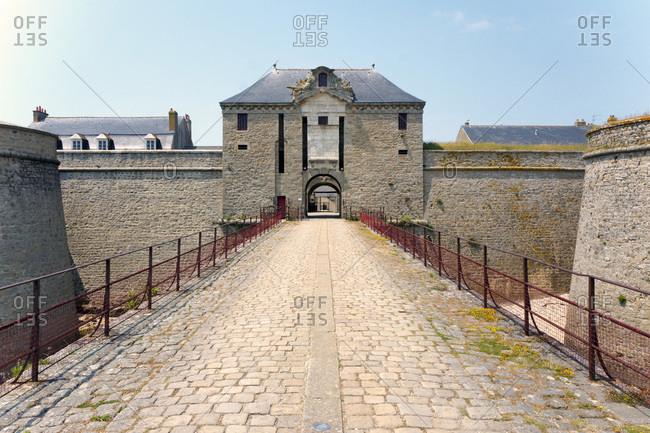 Europe, France, Bretagne, Morbihan, Port Louis, la Citadelle