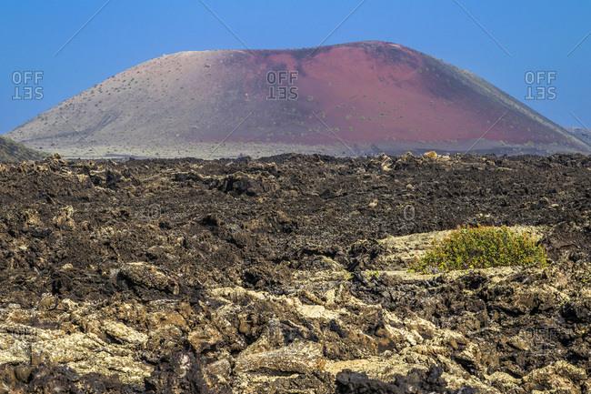 Spain, Canary Islands, Lanzarote Island, volcanoes area