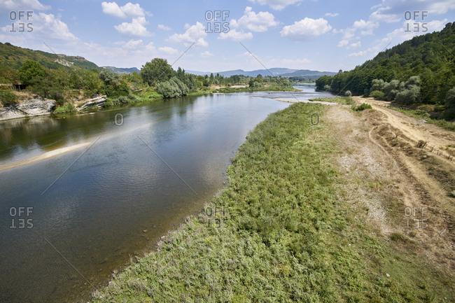 The Arda River running through the Eastern Rhodope Mountains, Bulgaria