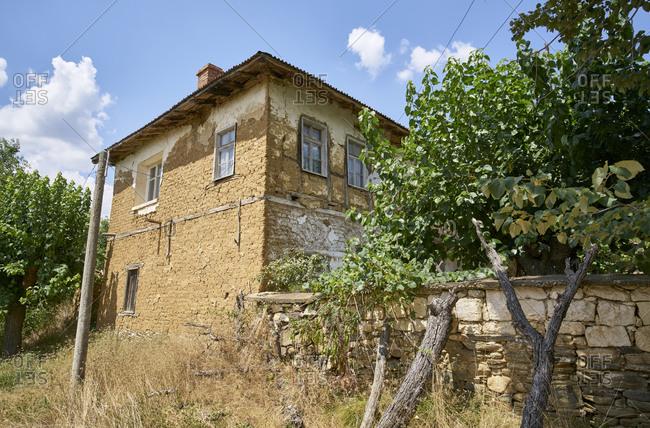 Old home in Odrinci, Eastern Rhodope Mountains, Bulgaria