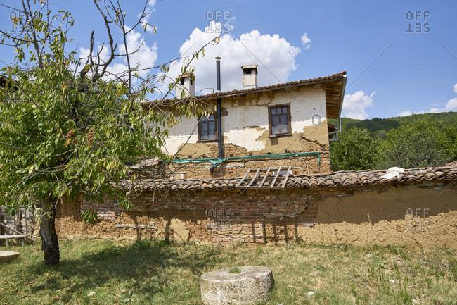 Old sericulture farmhouse in Odrinci, Eastern Rhodope Mountains, Bulgaria