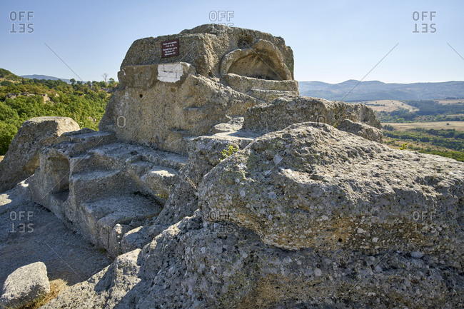 Ancient Thracian surface tomb and sanctuary in Tatul, Eastern Rhodope Mountains, Bulgaria