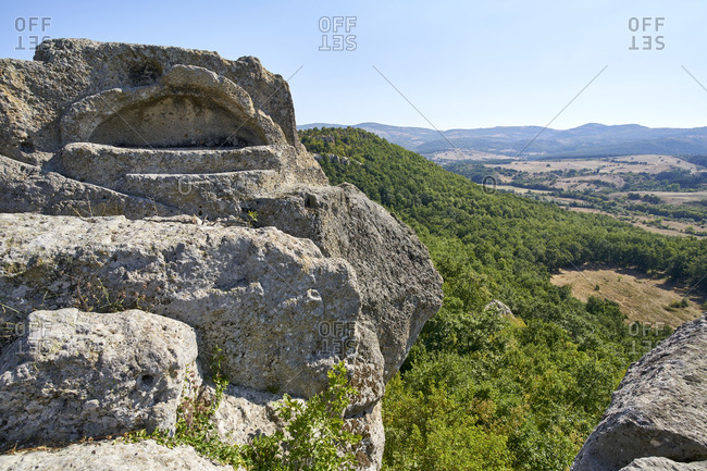 Ancient Thracian surface tomb and sanctuary in the Eastern Rhodope Mountains, near Tatul, Bulgaria