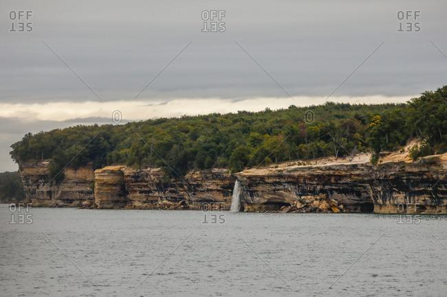 Pictured Rocks National Lakeshore Munising, Michigan, USA