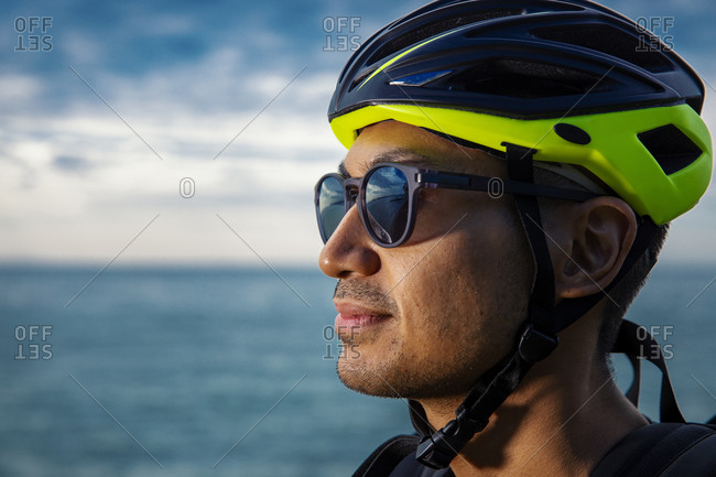 Headshot of cyclist